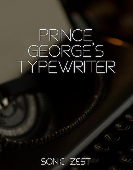 typewriter 3 - Prince George's Typewriter