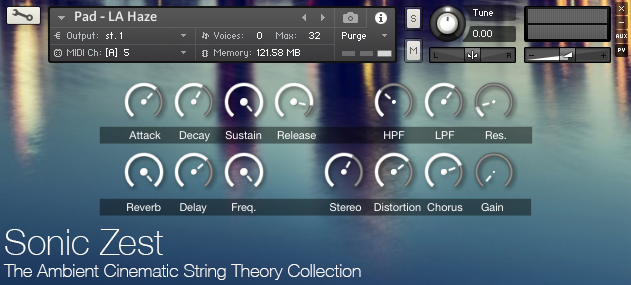 Ambient Cinematic String Theory - Ambient Cinematic String Theory Collection