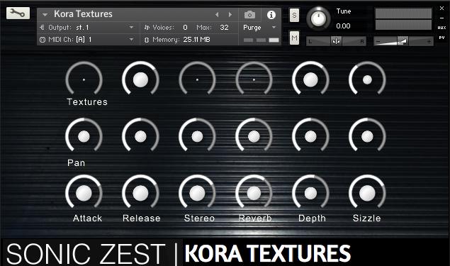 kora textures screenshot - Kora Textures [Organic Pad Engine]