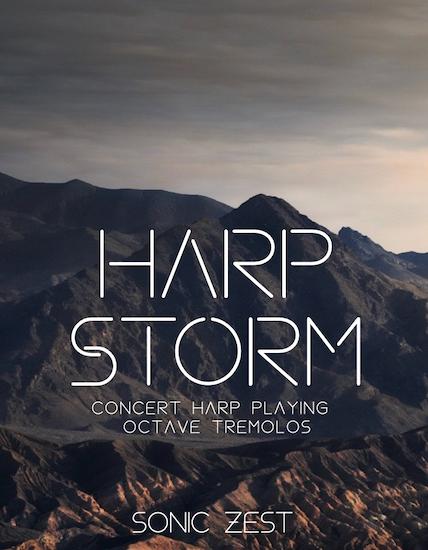 harp storm 1 - Sonic Zest Kontakt Instruments