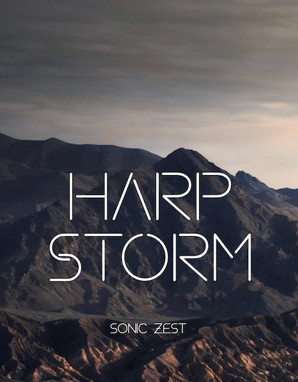 harp storm cover - Sonic Zest Kontakt Instruments