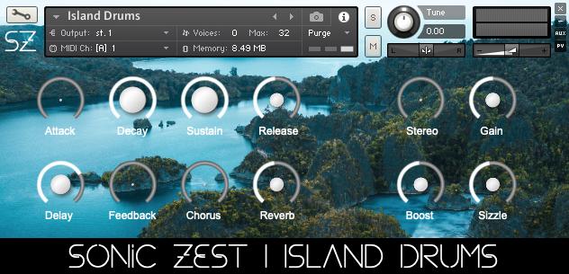 island drums gui - Island Drums