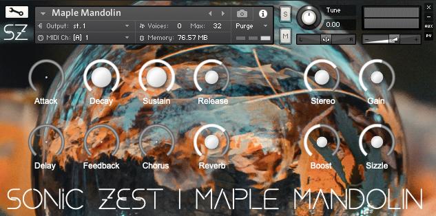 maple mandolin gui - Maple Mandolin