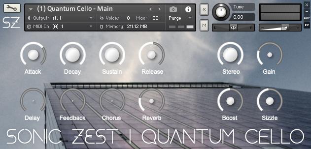 quantum cello gui - Quantum Cello
