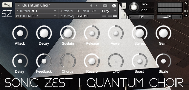 sz quantumchoir gui - Quantum Choir