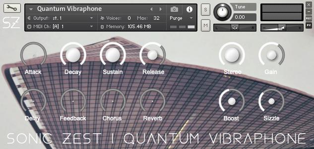 quantumvibes gui - Quantum Vibraphone