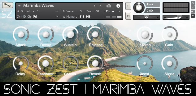 sonic zest marimba waves - Marimba Waves & Vibraphone Waves