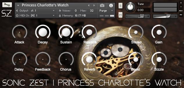 pcw gui - Princess Charlotte's Watch